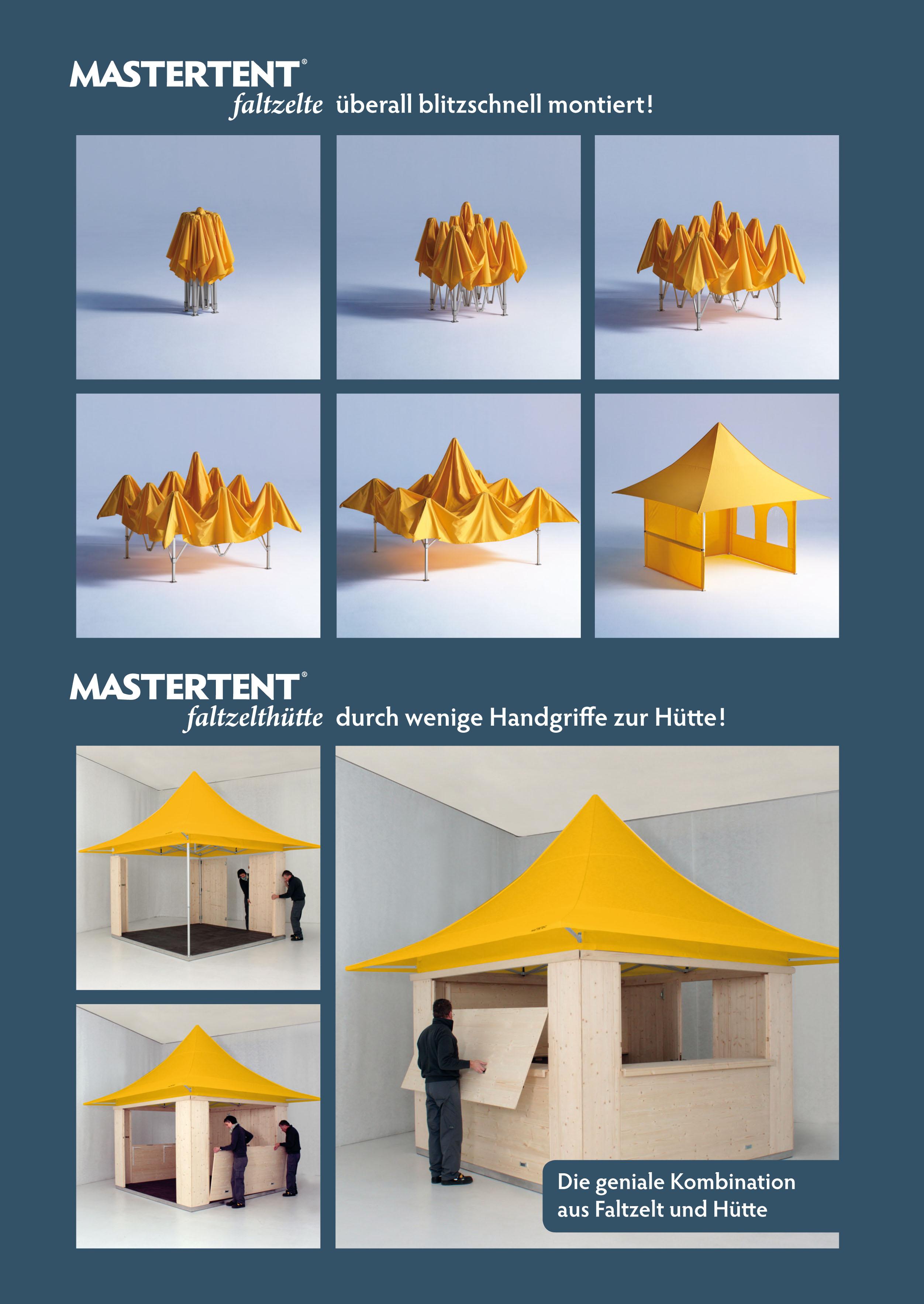 Mastertent Faltzelthütte